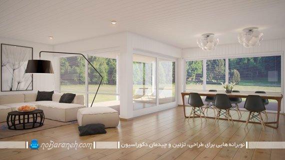 مدل چیدمان سالن پذیرایی خانه
