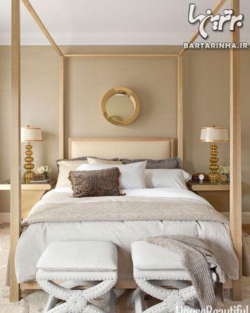 طراحی دکوراسیون مردانه اتاق خواب