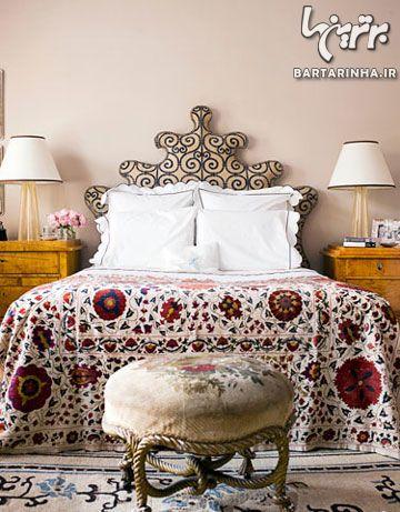 طراحی دکوراسیون ونیزی اتاق خواب
