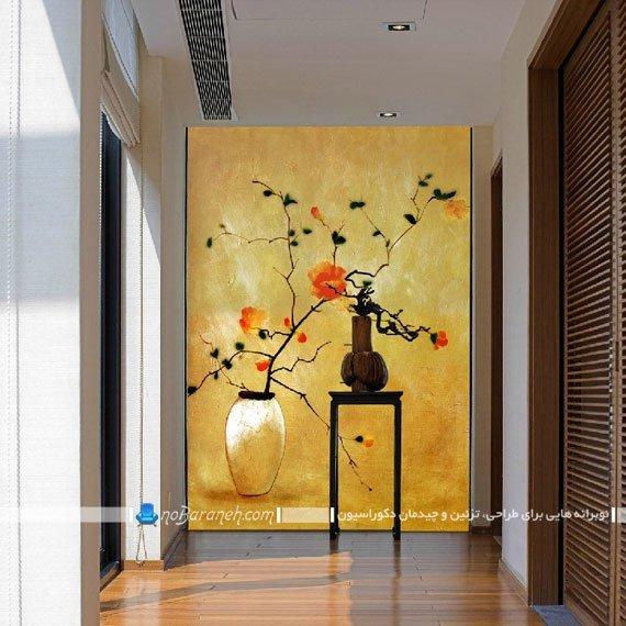 تزیین دیوار راهرو و هال خانه با پوستر کومار