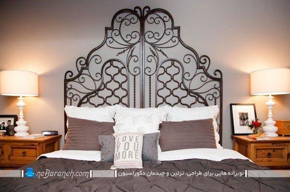 تخت خواب فلزی دو نفره
