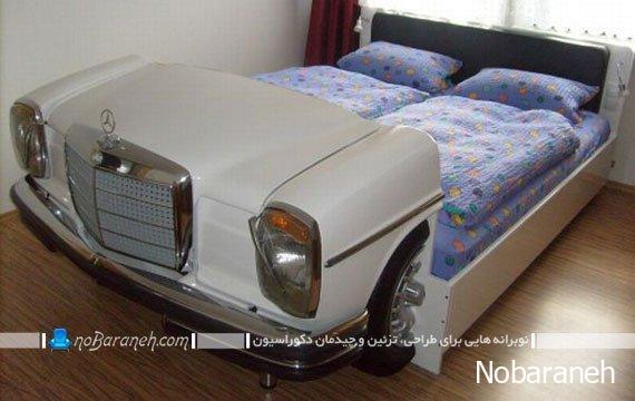 عکس و مدل تخت خواب با طرح و مدل جدید و دیدنی