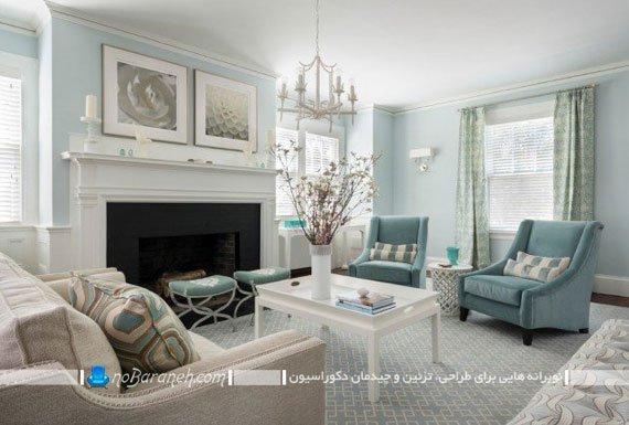 تزئین شیک و کلاسیک اتاق پذیرایی
