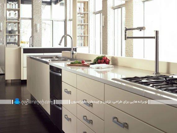 مدل های متنوع شیرآلات آشپزخانه
