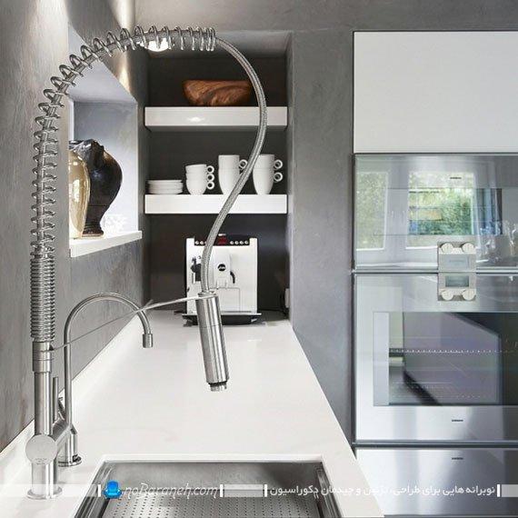 شیر ظرفشویی مدرن و استیل