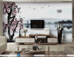 عکس و مدل کاغذ دیواری استیکر