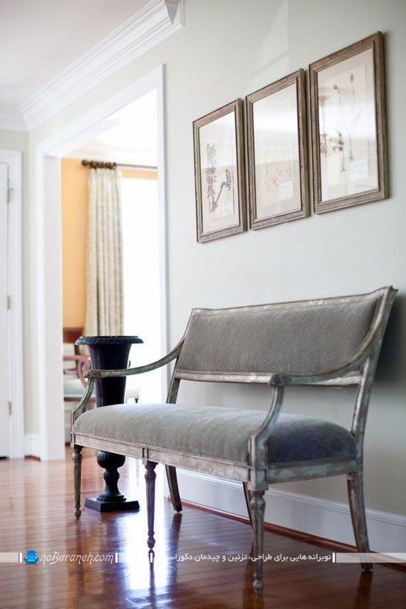 کاناپه و مبل راحتی دو نفره طرح کلاسیک