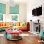 ایده های متنوع برای رنگ آمیزی اتاق پذیرایی و نشیمن خانه