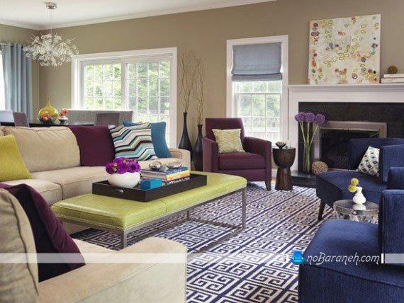 رنگ آمیزی اتاق پذیرایی