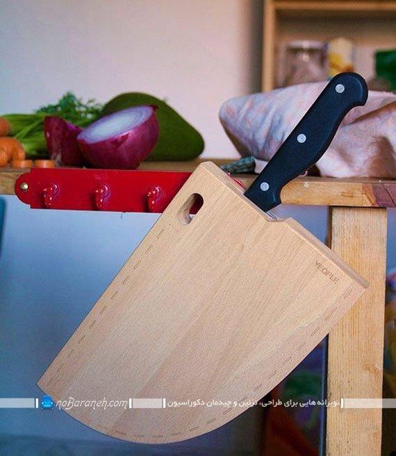 تخته برش گوشت و سبزیجات