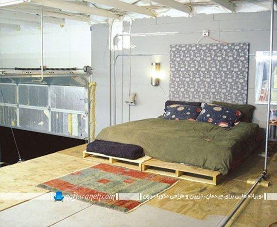 سرویس خواب تخته ای ساده