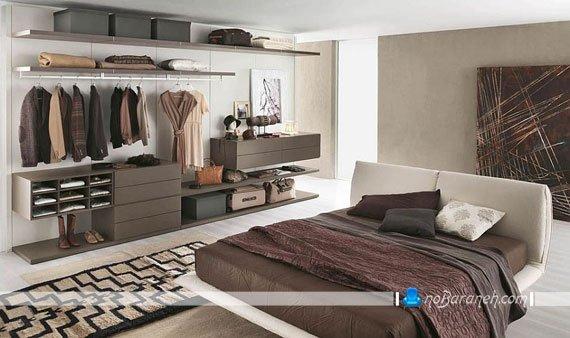 کمد چوبی اتاق خواب