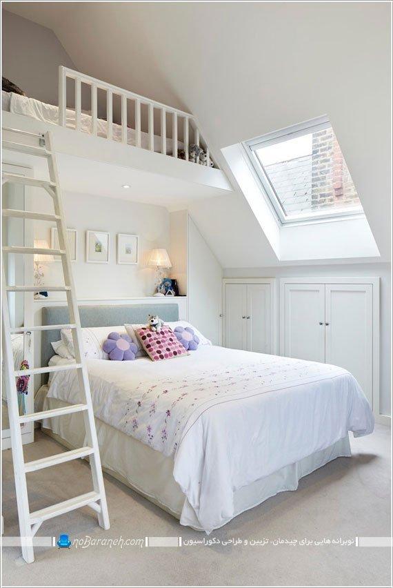 فضاسازی در اتاق خواب های کوچک