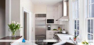 آشپزخانه کوچک مدرن
