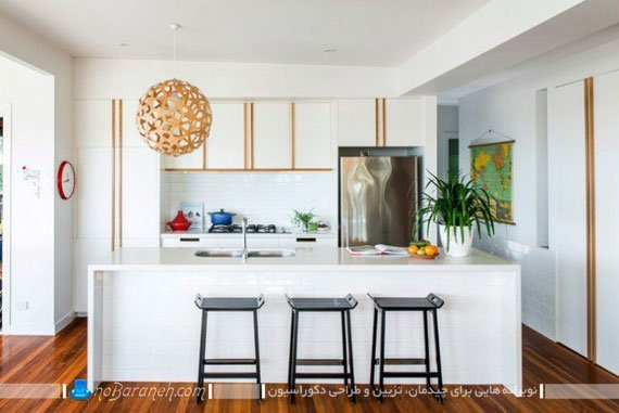 لوستر فانتزی برای آشپزخانه