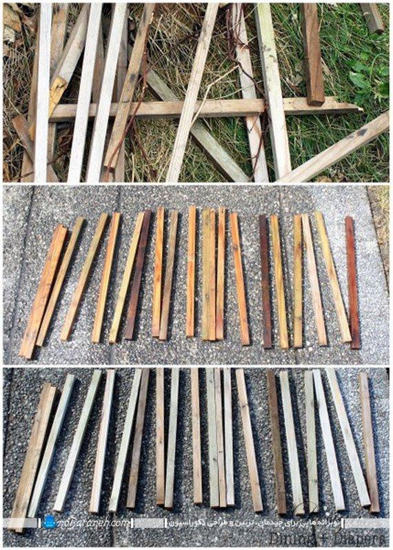 ایده ای برای بازسازی وسایل چوبی
