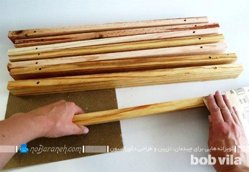 ساخت پادری چوبی