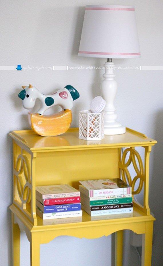 ترکیب زرد و سفید در دکوراسیون داخلی