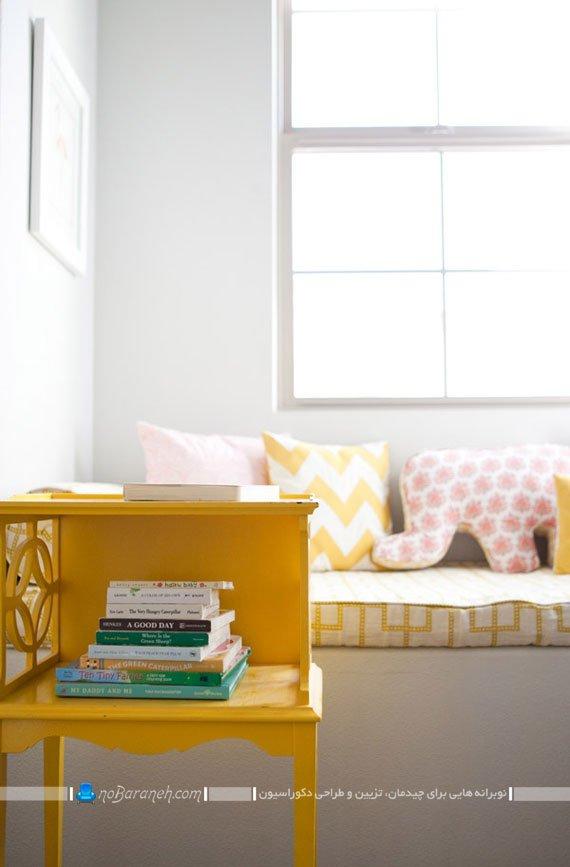 دیزاین خانه با رنگ زرد