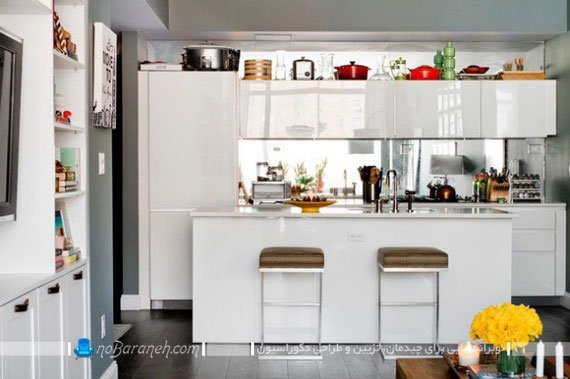 آشپزخانه شلخته و بی نظم