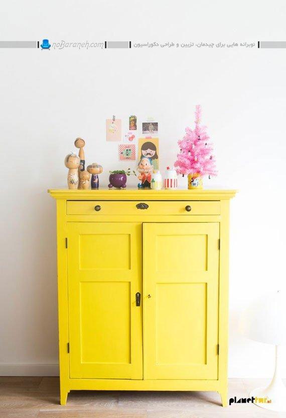تزئین خانه با رنگ زرد