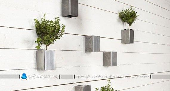 گلدان آویز دیواری