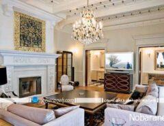 طراحی دکوراسیون کلاسیک خانه