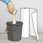 چسباندن کاغذدیواری (2)