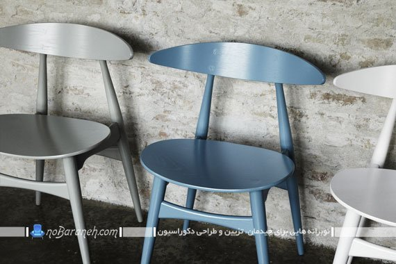 صندلی نهارخوری چوبی و ظریف