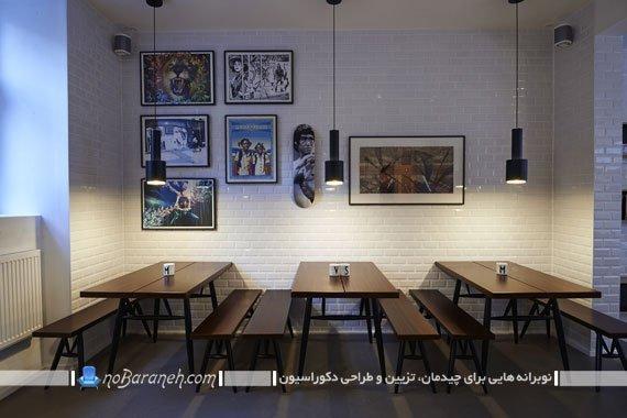 نیمکت کافه ای و ناهارخوری