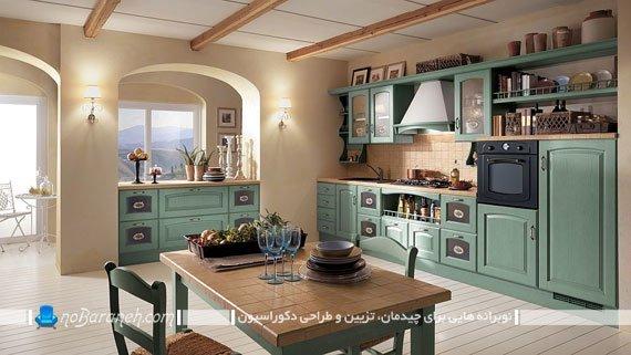 آشپزخانه کلاسیک زیبا (2)