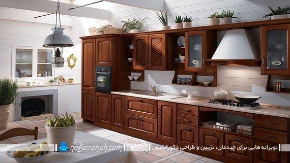کابینت های کلاسیک خارجی. مدل جدید کابینت کلاسیک آشپزخانه. طراحی کابینت آشپزخانه