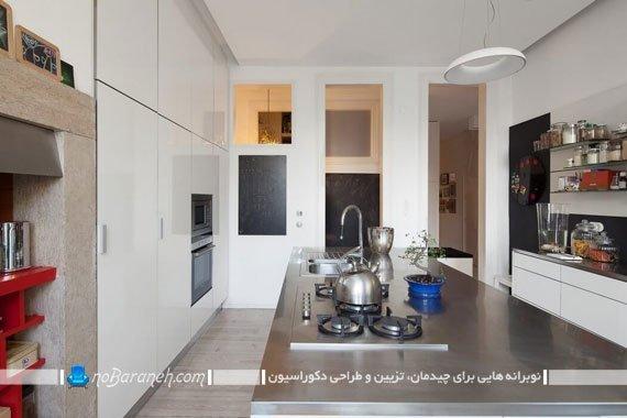 طراحی دکوراسیون شیک و مدرن در آشپزخانه