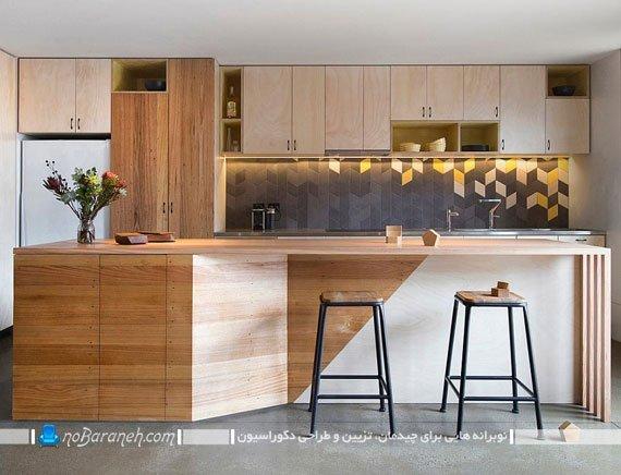 کاشی های مدرن آشپزخانه