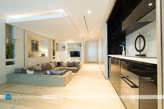 طراحی آشپزخانه و کابینت های مخفی