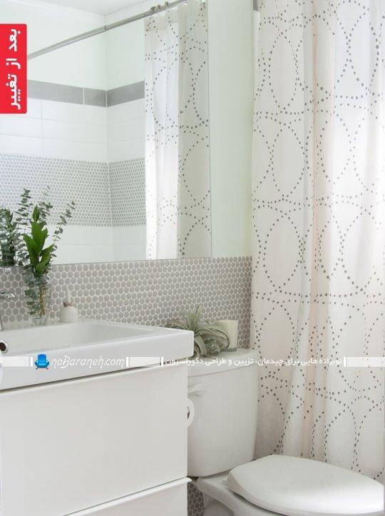 بازسازی سرویس بهداشتی خانه کلنگی (حمام و روشویی)