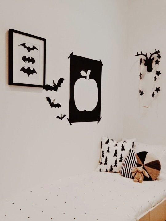 طراحی و تزئین دیوار اتاق کودک