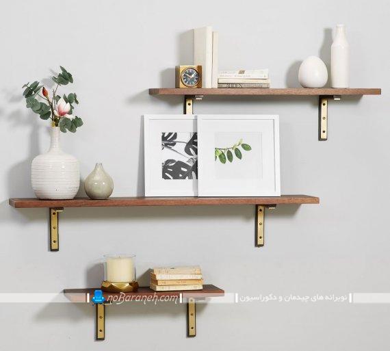 تزیین دیوارهای منزل با طاقچه چوبی. مدل های جدید و شیک طاقچه چوبی