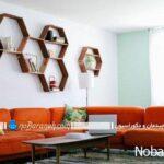 دیوارهای خانه را با شلف های چوبی و هندسی تزیین کنید