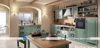 عکس آشپزخانه کلاسیک
