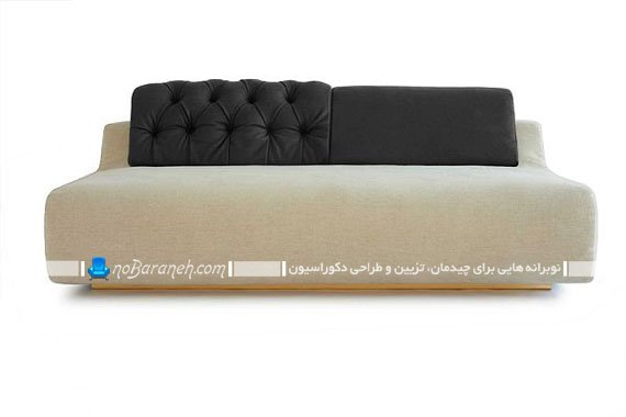 کاناپه و مبلمان کوچک و دو تکه