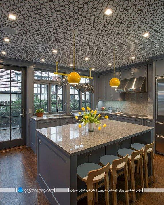 مدل آشپزخانه مدرن