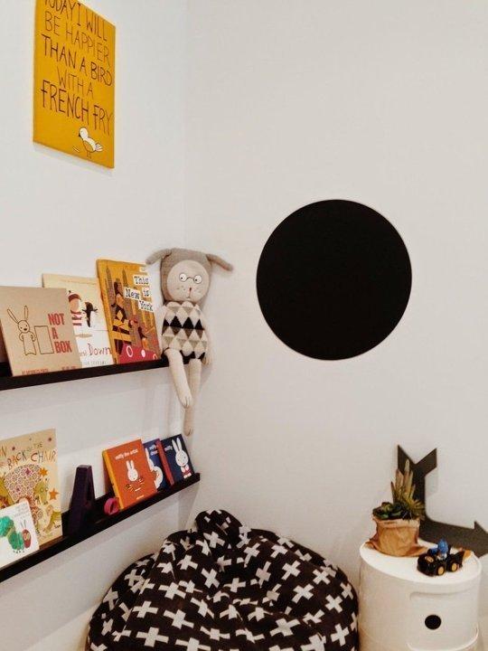 قفسه کتاب اتاق کودک
