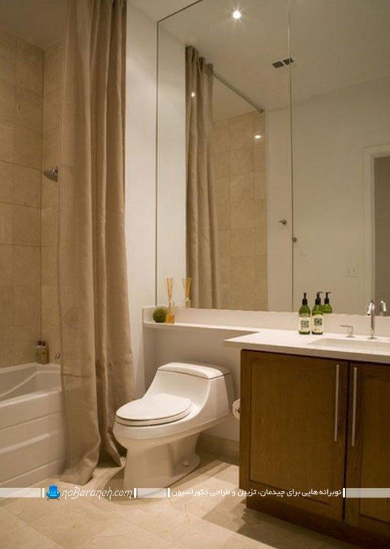 نصب پرده حمام