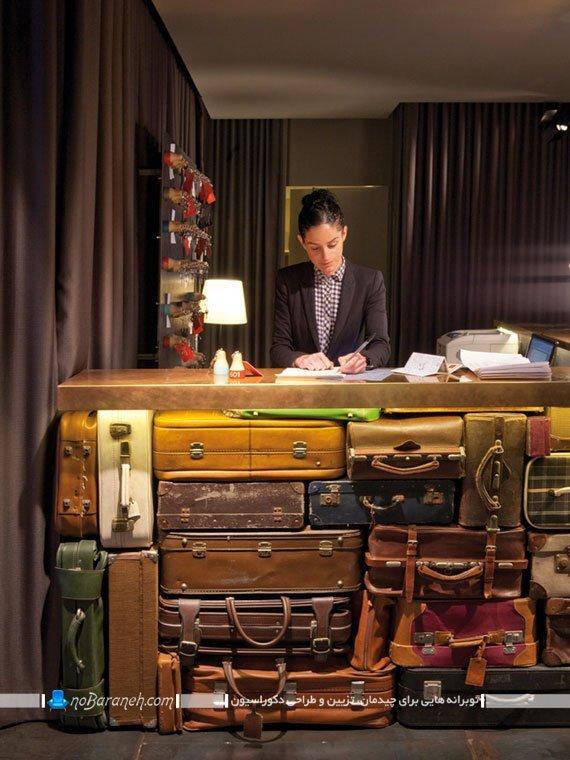 میز رسپشن هتل و مسافرخانه