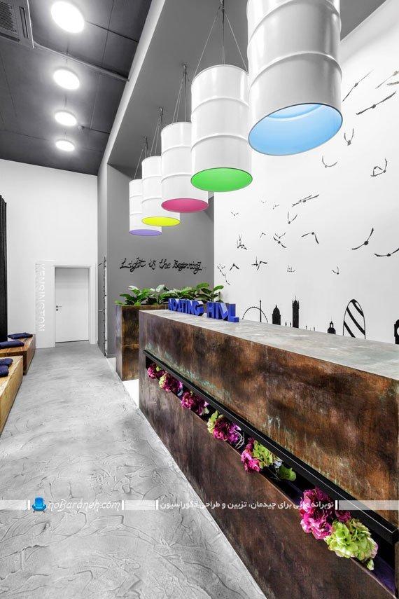 میز رسپشن و پذیرش مناسب استودیوهای هنری و طراحی