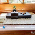 میز و صندلی ناهارخوری ژاپنی با طرح و مدلهای دیدنی