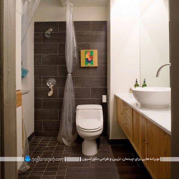پرده نایلونی حمام