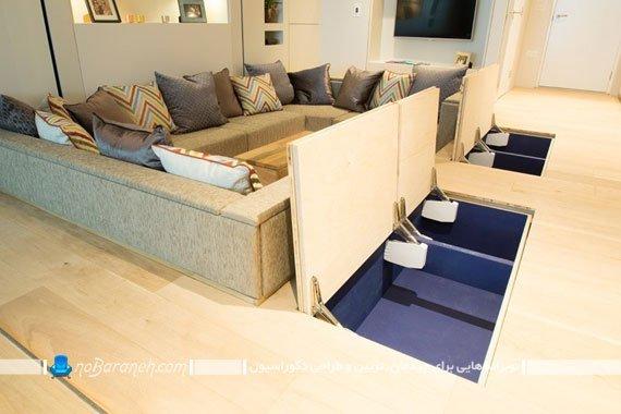 فضا سازی مخفی در خانه های کوچک