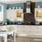 رنگ کرم را برای کابینت آشپزخانه انتخاب کنیم یا نه ؟